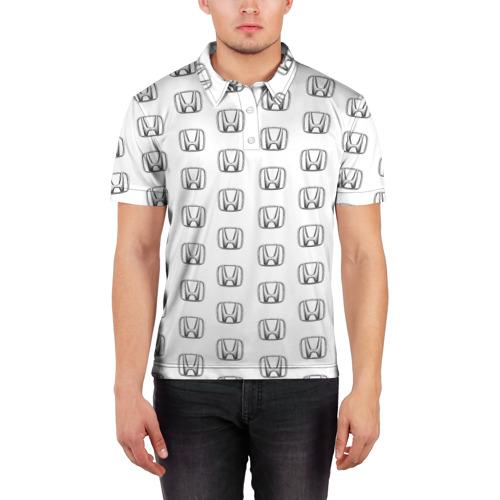 Мужская рубашка поло 3D  Фото 03, Honda