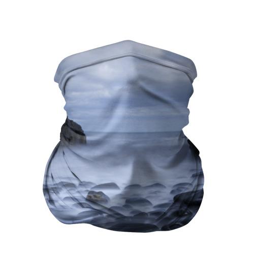 Бандана-труба 3D  Фото 01, Туманный берег