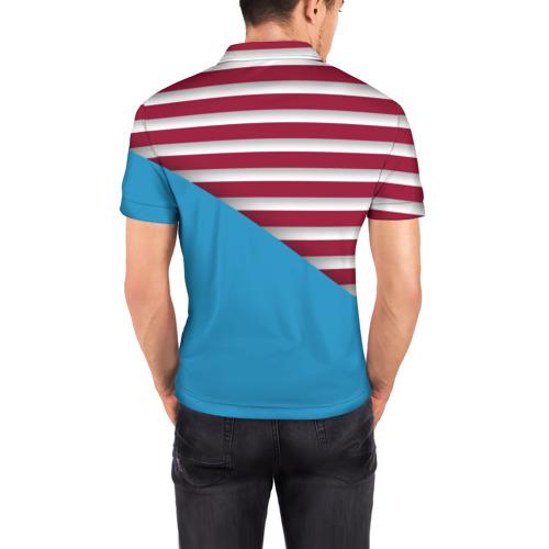 Мужская рубашка поло 3D  Фото 04, Stripes