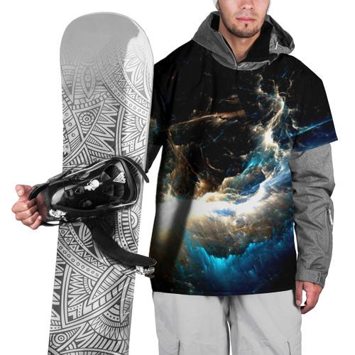 Накидка на куртку 3D  Фото 01, Абстрактный фон