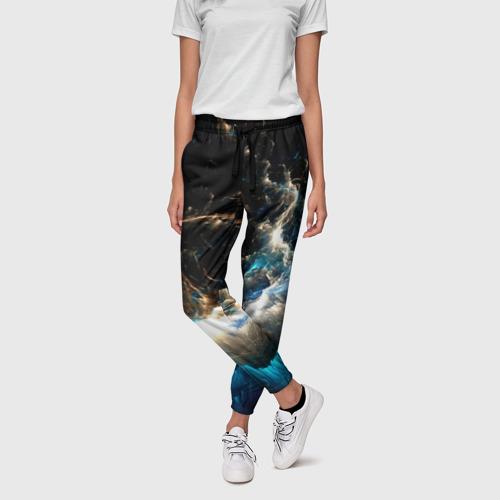 Женские брюки 3D Абстрактный фон