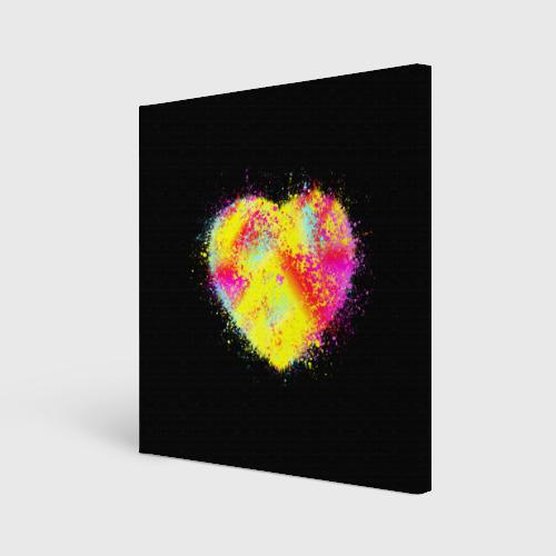 Холст квадратный  Фото 01, Сердце