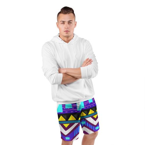 Мужские шорты 3D спортивные  Фото 05, Этно