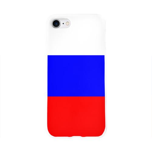 Чехол для Apple iPhone 8 силиконовый глянцевый Россия Фото 01