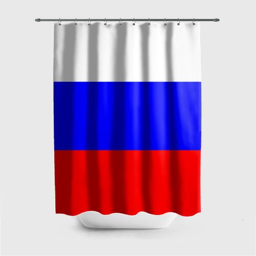 Штора 3D для ванной Россия Фото 01