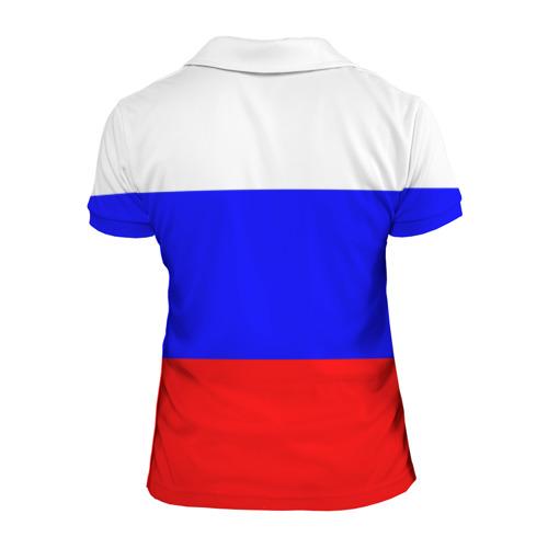 Женская рубашка поло 3D  Фото 02, Россия