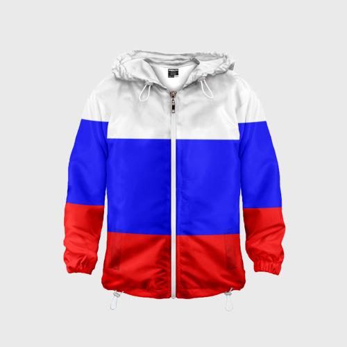 Детская ветровка 3D Россия Фото 01