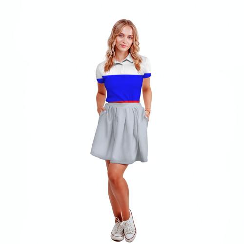 Женская рубашка поло 3D  Фото 04, Россия