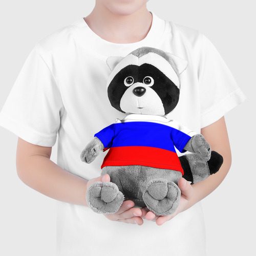 Енотик в футболке 3D Россия Фото 01