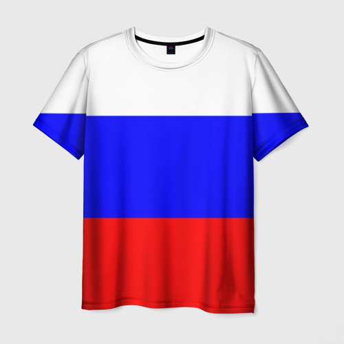 Мужская футболка 3D  Фото 01, Россия
