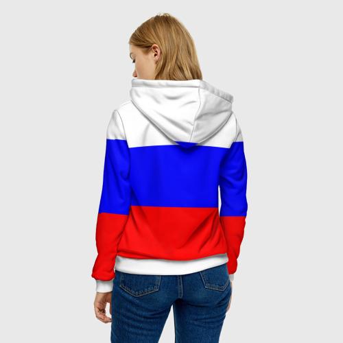 Женская толстовка 3D  Фото 04, Россия