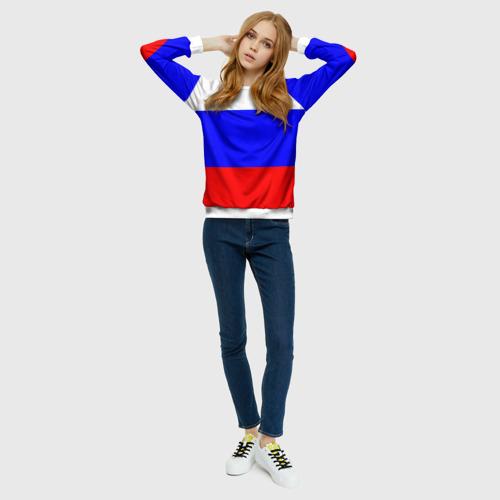 Женский свитшот 3D Россия