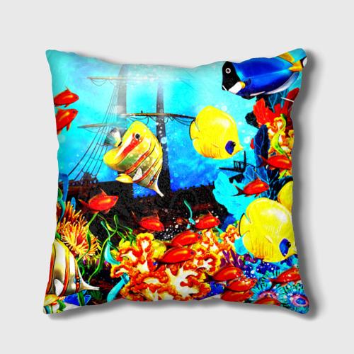 Подушка 3D  Фото 02, Подводный мир