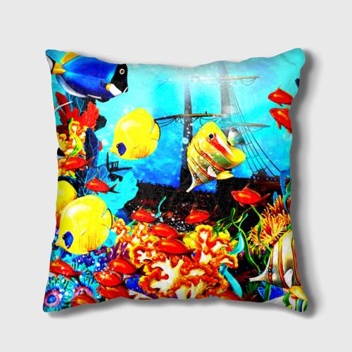 Подушка 3D  Фото 01, Подводный мир