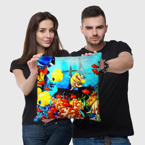 Подушка 3D  Фото 03, Подводный мир