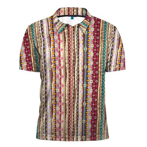 Мужская рубашка поло 3D  Фото 01, Индия 5