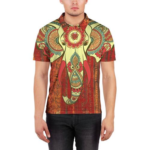 Мужская рубашка поло 3D  Фото 03, Индия 4