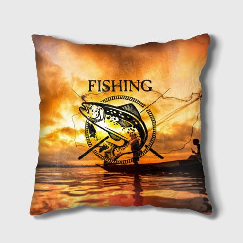 Подушка 3D  Фото 01, Рыбалка