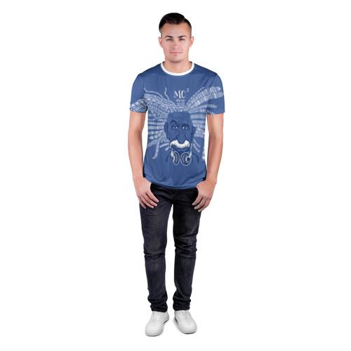 Мужская футболка 3D спортивная  Фото 04, Эйнштейн
