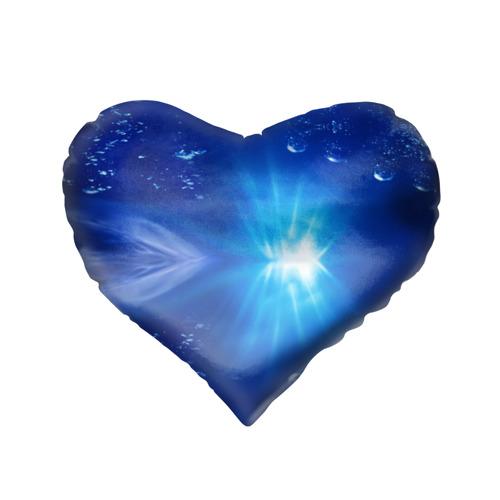 Подушка 3D сердце  Фото 02, Рыбачка
