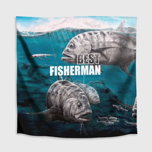Скатерть 3D  Фото 02, Лучший рыбак