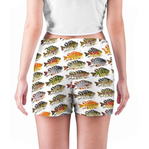 Женские шорты 3D  Фото 04, Рыбки