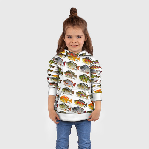 Детская толстовка 3D Рыбки