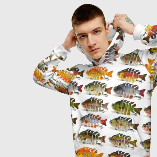 Мужская толстовка 3D  Фото 01, Рыбки