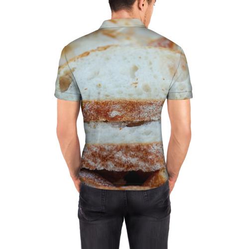 Мужская рубашка поло 3D  Фото 04, Хлеб