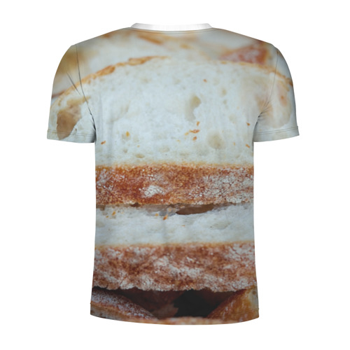Мужская футболка 3D спортивная  Фото 02, Хлеб