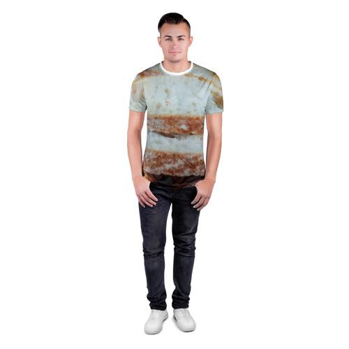 Мужская футболка 3D спортивная  Фото 04, Хлеб