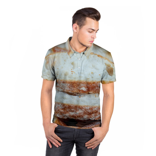 Мужская рубашка поло 3D  Фото 05, Хлеб