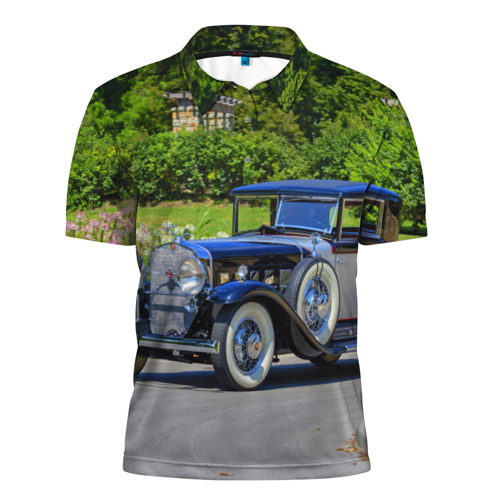 Мужская рубашка поло 3D  Фото 01, Cadillac