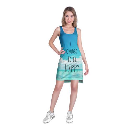 Платье-майка 3D  Фото 03, Happy