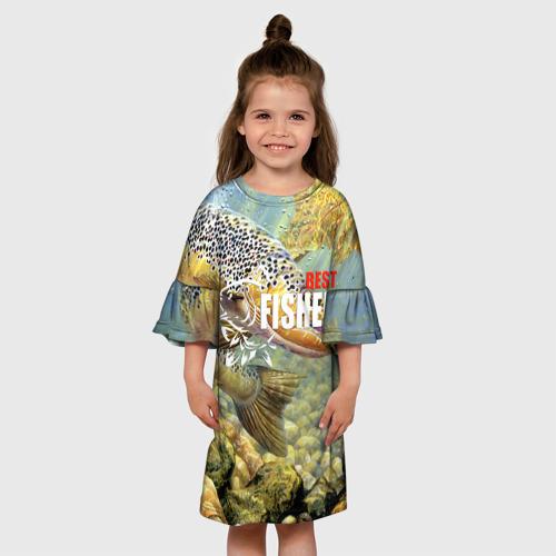 Детское платье 3D  Фото 01, Лучший рыбак