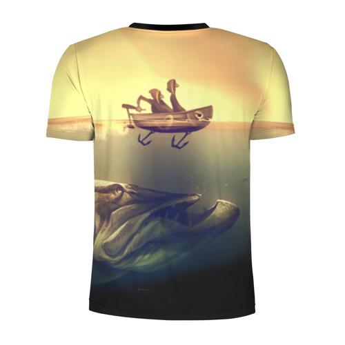 Мужская футболка 3D спортивная Рыбалка Фото 01