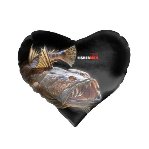 Подушка 3D сердце  Фото 01, Лучший рыбак