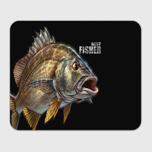 Коврик для мышки прямоугольный  Фото 01, Лучший рыбак