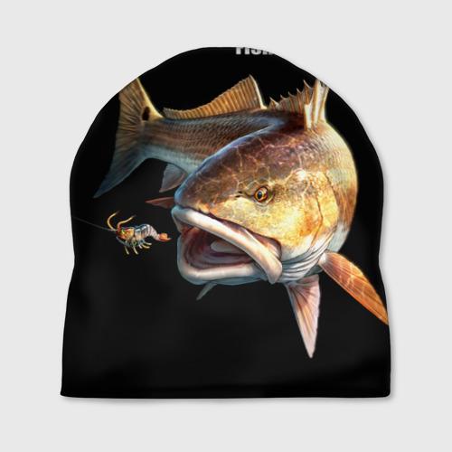 Шапка 3D Лучший рыбак