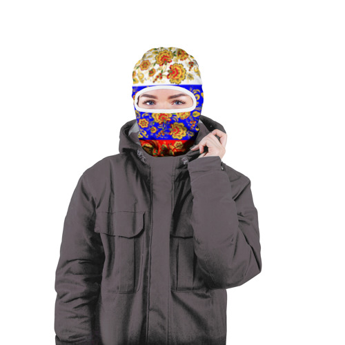 Балаклава 3D  Фото 04, Хохлома