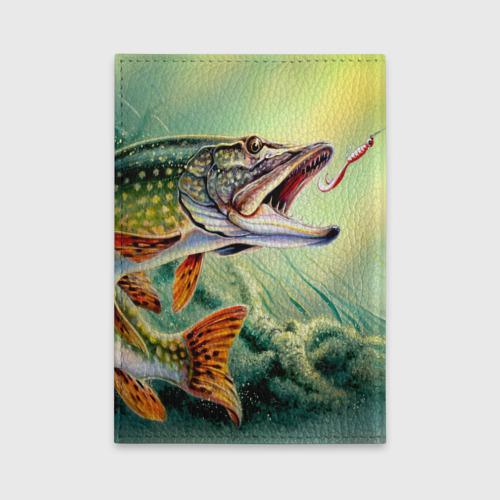 Обложка для автодокументов  Фото 02, Лучший рыбак