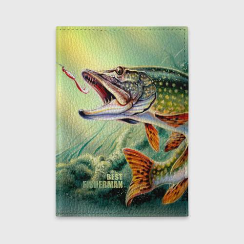 Обложка для автодокументов  Фото 01, Лучший рыбак