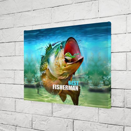 Холст прямоугольный  Фото 03, Лучший рыбак