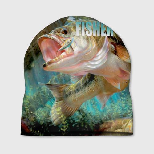 Шапка 3D Лучший рыбак Фото 01