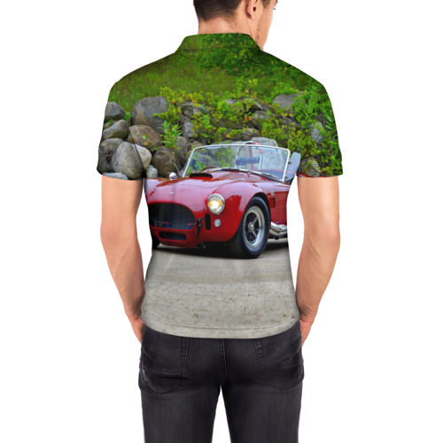 Мужская рубашка поло 3D  Фото 04, Ford