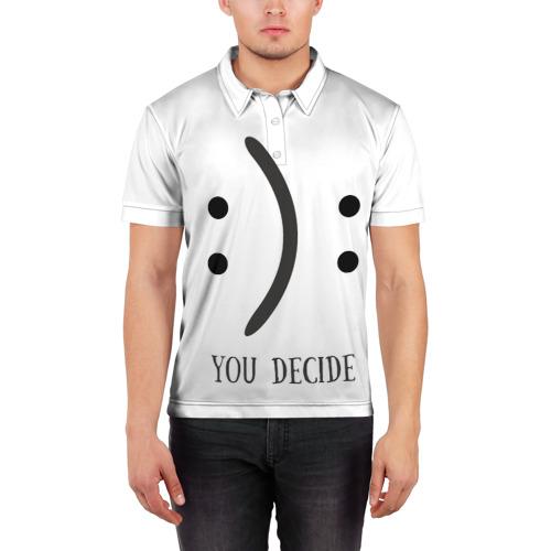 Мужская рубашка поло 3D  Фото 03, Твой выбор
