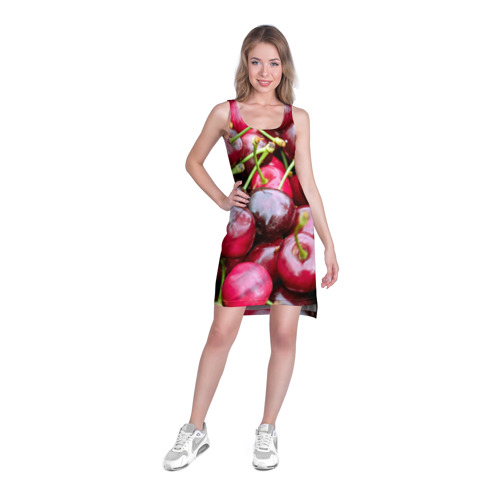 Платье-майка 3D  Фото 03, Черешня