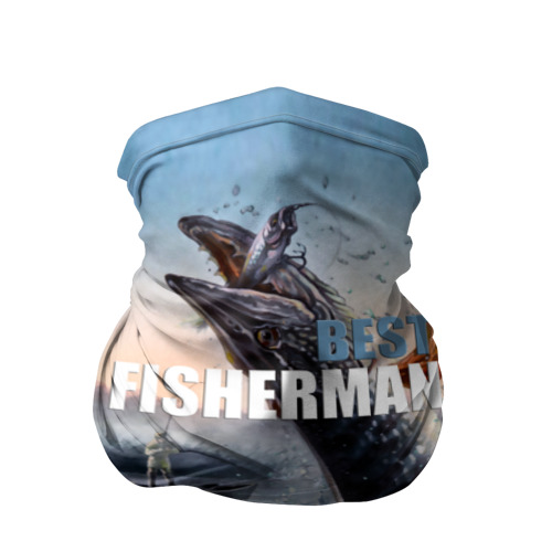 Бандана-труба 3D Лучший рыбак
