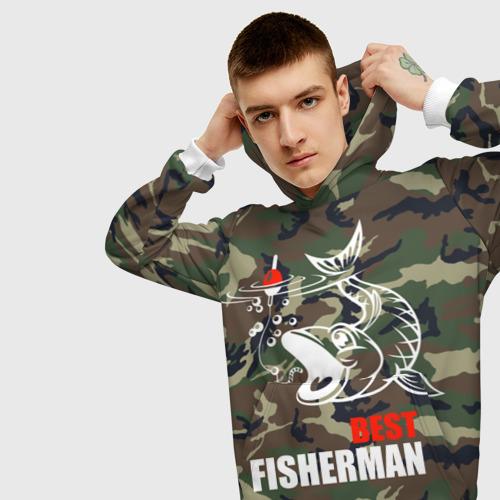 Мужская толстовка 3D  Фото 01, Лучший рыбак