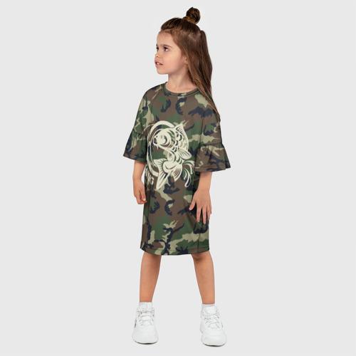 Детское платье 3D  Фото 03, Рыбалка